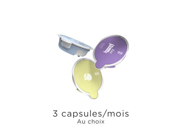 3 capsules par mois AromaCare Abonnement