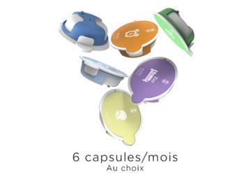 6 capsules par mois AromaCare Abonnement copie