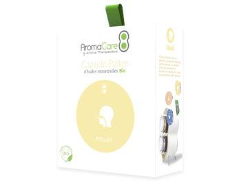Packaging AromaCare Capsule Pollen Avant