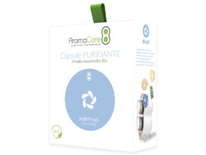 Packaging AromaCare Capsule Purifiante Avant