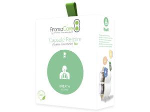 Packaging AromaCare Capsule Respire Avant