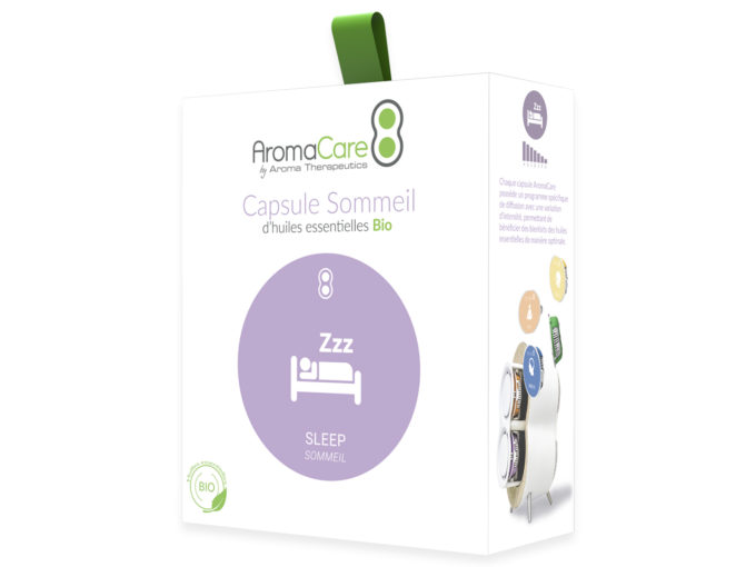 Packaging AromaCare Capsule Sommeil Avant
