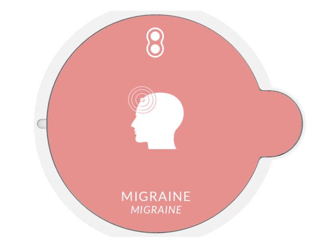 Migraine Capsule essential oils AromaCare arriere