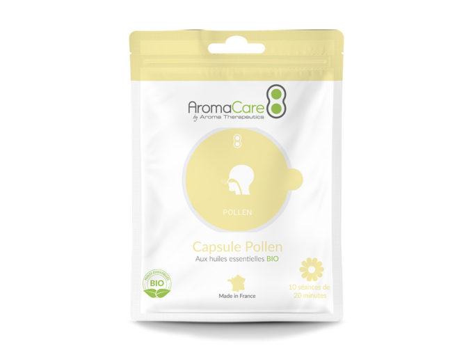 Packaging Sachet AromaCare Capsule Pollen Avant