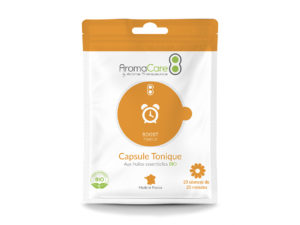 Packaging Sachet AromaCare Capsule Tonique Avant