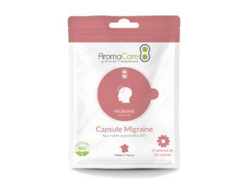 Packaging Sachet Migraine Capsule Purifiante Avant